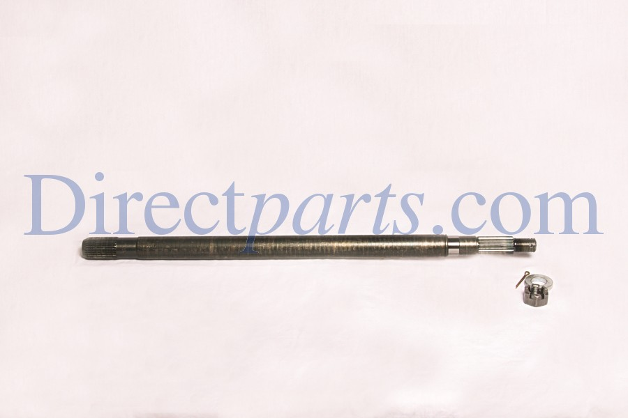 Rear Axle, Left, 22-31/32 length, Fits 2 Speed Hypoid Differential