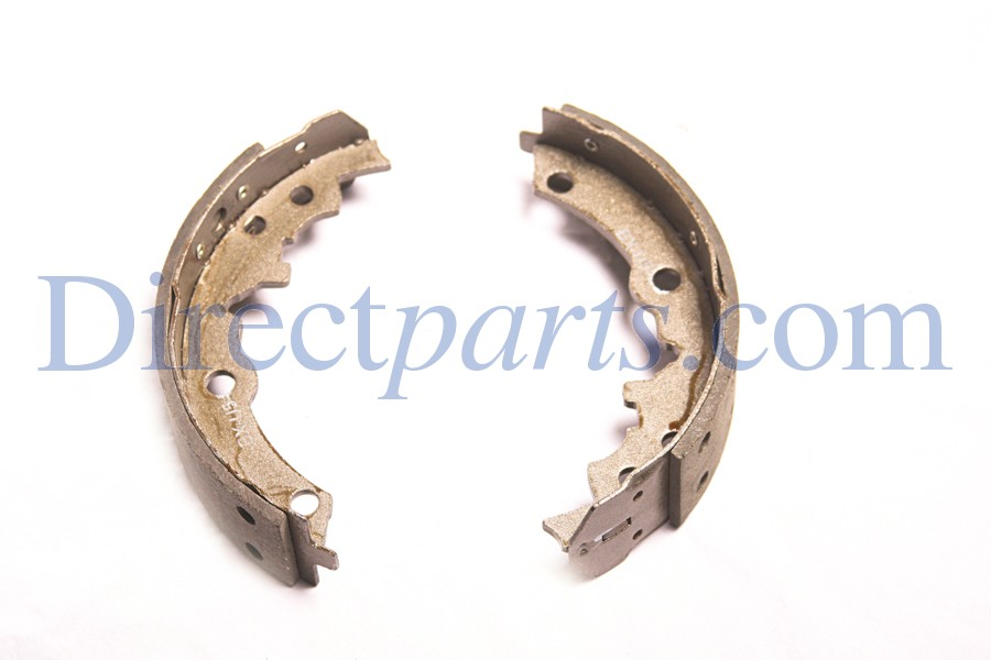 Brake Shoe Kit (2 per Package), For Cushman Truckster/Haulster, Was part number 894932.