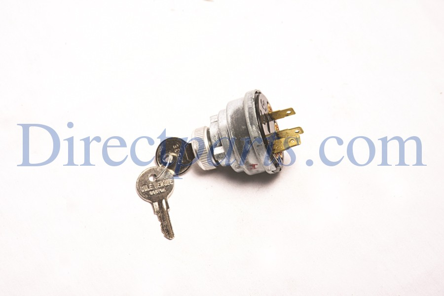 Ignition Switch, Ign 4 terminal round Key