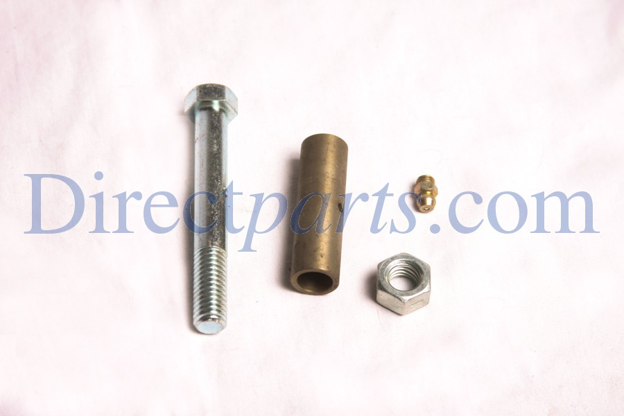 Spring Bushing Kit.  1-800294 Nut locking, 1-807439 grease zerk, 1-828946, Bushing, 1-828948, Screw