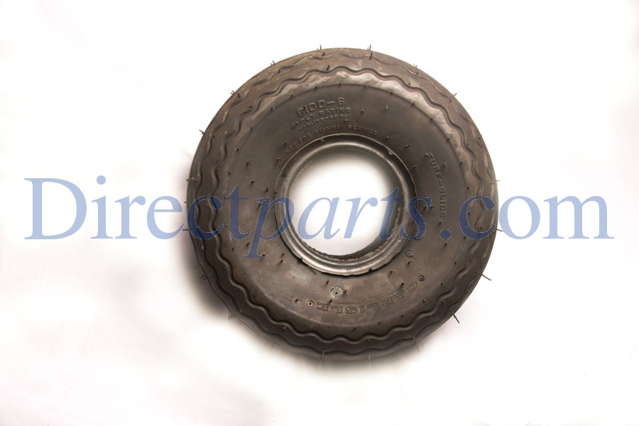 8.00x6x16 Tire, Rib Tread