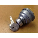 Ignition Switch, 4 terminal round headed Key see images